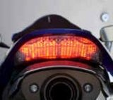Integrated/LED Clear Tail Light
