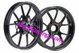 "Marchesini FORGED MAGNESIUM RIMS (10 Spoke) BLACK 17"" - DISTRIBUTOR INVENTORY BLOW OUT"