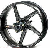 BlackStone BST Carbon Fiber Wheel Set for Yamaha R3