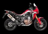 S-H10SO16-WT  Akrapovic Titanium Slip On - '16-19 CRF1000L Africa Twin