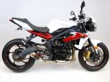 WT678    WERKES USA SS GP  Slip-on - '13-16  Triumph Street Triple