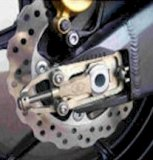 128-82XX  GILLES SUPERBIKE Chain Adjusters - HONDA