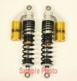 HD142  Ohlins Shocks, Harley-Davidson  XLH883/1200 (All) & Triumph Thruxton 14.1""