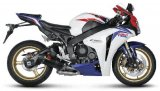 S-H10SO6T-TC  Akrapovic Carbon HEX Slip-on - '08-'13  CBR1000RR NON-ABS & '09-'13 CBR1000RR ABS Model