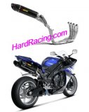 S-Y10RFT10-ZC/2  Akrapovic Evolution 2 KIT w/ Twin Carbon HEX  - '09-'14  R1