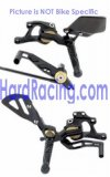 VCR-K04  GILLES Rear Sets - '09-'12 ZX-6R Style(38GT)