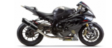 005-281010XV-B  TWO BROTHERS - Full System  '09-'14  S1000RR  BLACK SERIES