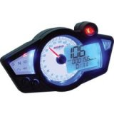 BA011B02-X  KOSO Gauges GP STYLE SPEEDOMETER RX-1N (WHITE FACE)
