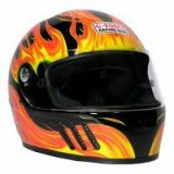 GFORCE-GFPROELMXBL  G-FORCE  GF PRO ELIMINATOR X BLACK HELMET