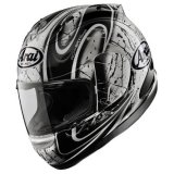 Arai Helmets - Corsair V Replicas/Graphics -Rea BLACK (INVENTORY BLOW OUT)
