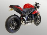 WT1051-S  WERKES USA SS GP  Slip-on - '11-16 Triumph Speed Triple