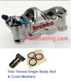 Brembo GP4-RX FRONT Brake Calipers 100mm (BMW/Ducati/Aprilia/Kawasaki) (FREE EXPRESS SHIPPING)220.B010.20