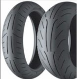 MICHELIN Power PURE SC TIRE SET - '13-'20  Honda GROM / GROM SF  (19111, 98726, 98845)