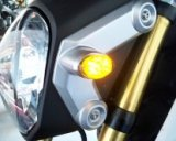 LED Front Turn Signals - '13-'17 Honda GROM / GROM SF  (GROM-TURNSIGNALS3-X)
