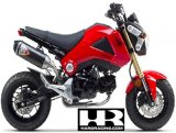 "TWO BROTHERS Stainless w/ Carbon Canister Full System '13-'15 Grom ""OG""   005-3740105-S1"