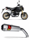 S-H125SO2-CUBT  Akrapovic Titanium  Slip-on - '13-15   Grom