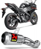 S-Y2SO11-AHCSS  Akrapovic Stainless GP-Style Slip-on - '15-'19 Yamaha R3