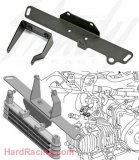 Kitaco  Frame Bracket Plates (upper and lower)   - '13-'20  Honda GROM / GROM SF
