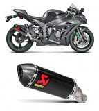 S-K10SO16-HZC    Akrapovic Carbon HEX Slip On w/Carbon End Cap - '16-18  Kawasaki ZX-10R