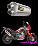 S-H10SO15-HWT  Akrapovic Titanium Slip On - '16-17 CRF1000L Africa Twin