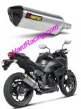 S-K3SO1-HZT   Akrapovic Titanium Hex Slip-on w/ Carbon End - '13-16  Z250