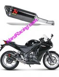 S-H25SO1-ZC   Akrapovic  Carbon Slip-on - '11-'16 CBR 250R