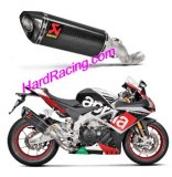 S-A10SO8-RC  Akrapovic Carbon  Slip On  - '15-16 Aprilia RSV4