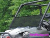 UTV Windshields - Polaris Ranger XP 500/700/800 Scratch Resistant Half Windshield   HWS-P-RAN09XP-7X