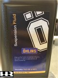 01309-01  Ohlins R&T Fork Oil  19 Viscosity - 1 Litre Bottle
