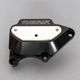 60-0334CLP  Woodcraft Billet Alum. Engine Covers '03-'06 CBR600RR - RIGHT Clutch Cover Protector (PROTECTOR ONLY)