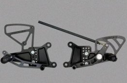 RS603k  Vortex Rear Sets - Yamaha '02-'06 R1 - BLACK