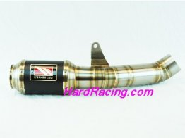 WA1004R-BC   WERKES USA GP Race Slip-on - Aprilia 2010-2015 RSV4RR & Tuono