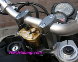 SD-F700GS  BMW Scotts Steering Damper SUB MOUNT Complete Kit When using Stock Triple Clamps,  '13-15  BMW F700 GS