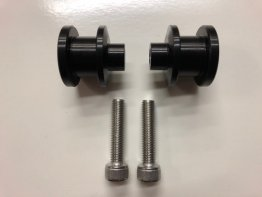 OTB Billet Aluminum Spools Only (set of 2) for USE with OTB GEN2 Chain Adjusters only