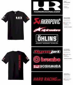 HardRacing.com T-Shirts (When Purchased Separately)