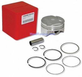 KOSO 61mm Forged 4v Piston Kit for 170cc 4V BBK :  Honda GROM / GROM SF, MD623010