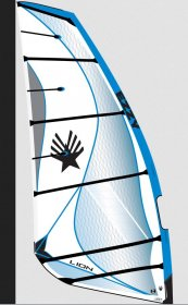 2020-21  Ezzy Windsurfing Sails - Lion3  Size   6.5