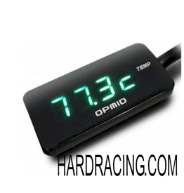 "OPMID ""Version 2.0"" M1011 Engine/Head Temperature Gauge w/ Voltmeter (Plug-n-Play)  GEN2- '13-'20  Honda Grom / Grom SF (IN STOCK)"