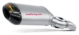 SS-K6SO3-HNT  Akrapovic Titanium Slip-on w/ Carbon End - '05-'06 ZX636/6RR