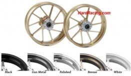 GSPD-10SPK   GALESPEED FORGED ALUMINUM RIMS (10 Spoke) TYPE R