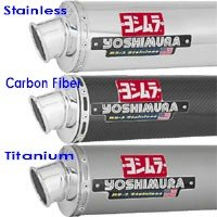 Yoshimura Stainless Race System w/ RS-3 - '04-'05 GSX-R600 (1101055, 1101052, 1101057)