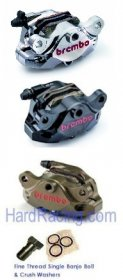 "Brembo ""HP"" BILLET Supersport REAR Brake Caliper (FREE EXPRESS SHIPPING)120.A441.XX"