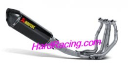 S-S13R2-RC  Akrapovic Race System w/ SINGLE Carbon HEX - '08-17 BUSA