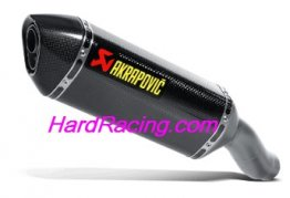 S-K6SO6-ZC  Akrapovic Carbon Hex Slip-on w/ Carbon End - '09-'18 ZX-6R