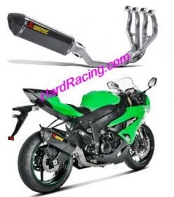 S-K6R6-ZC  Akrapovic Race w/ Carbon Hex & Carbon End - '09-'18 ZX-6R