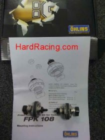 FPK 108  Ohlins 30mm SuperSport Piston/Valve Kit -'09-'13 R1 ONLY