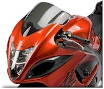 60802-140X  Hotbodies OVERSIZED AIR SCOOPS - 08-15 GSX-R 1300 Hayabusa