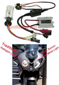 HID-6000K  TRUE HIGH INTENSITY DISCHARGE (H.I.D.) XENON LIGHT  6000k (Pure White)