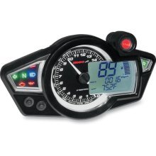 BA011B02-XX KOSO Gauges GP STYLE SPEEDOMETER RX-1N (BLACK FACE)