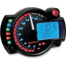BA015B15-X  KOSO Gauges RX-2N / GP STYLE SPEEDOMETER (0-10000 RPM)